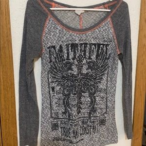 Daytrip Long Sleeve Bedazzled Shirt